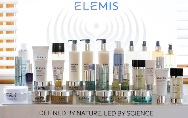 Elemis beauty and well being product range